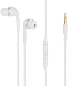 Unique Collections 3.5MM Jack handsfree for Samsung Galaxy J7 / Galaxy J5 Headphones WIth Mic, Earphones, Handsfree Headset With Deep Bass And Music Equalizer Wired Wired Bluetooth Headset With Mic