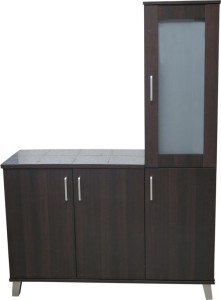 Genial Eros Engineered Wood Crockery Cabinet