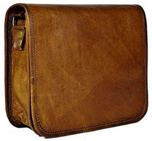 CraftShades 13 inch Expandable Laptop Messenger Bag