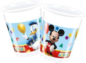 Club Disney MlPack Mickey Mouse Mug200 Of 8 Plastic House qzMGSpVLU