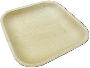 Ezee Ezee Eco Friendly Areca Leaf Square Plate 9