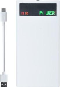 Maxim Big Display High Capacity 4 Port White 18000 mAh Power Bank