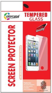 Colorcase Tempered Glass Guard for Coolpad Mega 2.5D