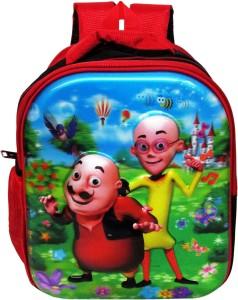 ehuntz Motu patlu, 5D embossed Waterproof School Bag