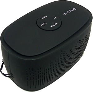 Yuvan IN - BT509 FM USD/ SD Player With Mic Mini Portable Bluetooth Mobile/Tablet Speaker