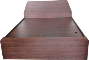 Eros Engineered Wood Queen Bed With Storage