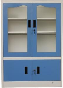 Woodness Metal Close Book Shelf