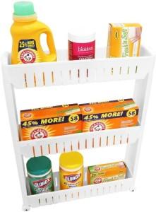 SAI Plastic Kitchen Trolley