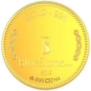 BlueStone 24 (995) K 50 g Gold Coin