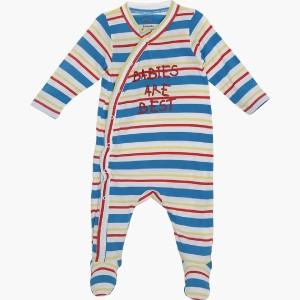 662527edee9d FS Mini Klub Baby Boys Multicolor Sleepsuit Best Price in India
