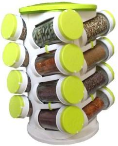 Avenue Spice Rack 16 IN 1, Food Grade Plastic Storage Rack 1 Piece Spice Set