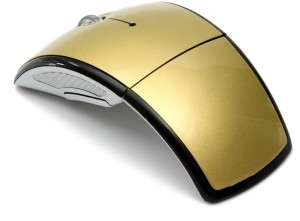 Outre 2.4Ghz Folding ARC Wireless Optical Mouse