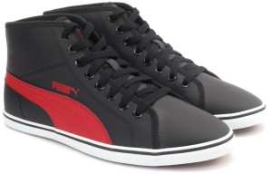a6a07e8a769aab Puma Elsu v2 Mid SL IDP Sneakers Black Best Price in India