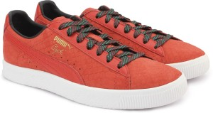 bf6d3eb2ad98 Puma Clyde GCC Sneakers Red Best Price in India
