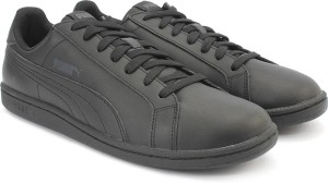 a49257ea5b3e20 Puma Smash L Sneakers Black Best Price in India