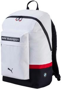 fb9747ed5d72 Puma BMW Motorsport Backpack 25 L Laptop Backpack White Best Price ...