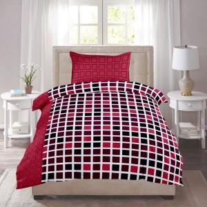 Zain Cotton Checkered Single Bedsheet