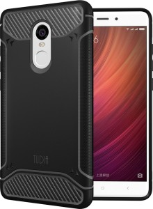 a568834ea Tudia Back Cover for Xiaomi Redmi Note 4 ( Black Rugged Armor )