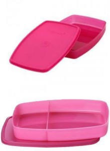 Tupperware Classic Slim 2 Containers Lunch Box