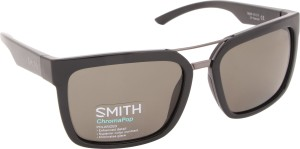 7445a686b0 SMITH HIGHWIRE D28 56L7 Rectangular Sunglasses Grey Best Price in ...
