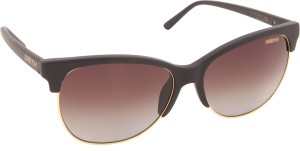 66edb553bf SMITH REBEL DL5 58AY Rectangular Sunglasses Brown Best Price in ...
