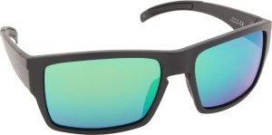 e93f1287ee5cc SMITH OUTLIER XL DL5 56AD Rectangular Sunglasses ( Green )