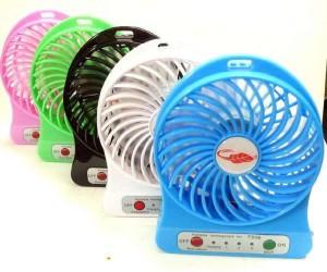 SHOPCRAZE Light With Rechargeable 2600 MAh Cell ESRT5654 USB Fan
