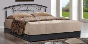 FurnitureKraft Bangkok Metal King Bed With Storage