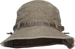 FabSeasons Solid Foldable Washed Cotton Bucket Hat Cap