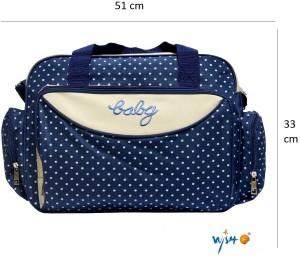 Wishkey Multipurpose Waterproof Mother Bag(Large) Nursery Bag