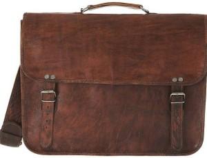 CraftShades 15.6 inch Expandable Laptop Messenger Bag