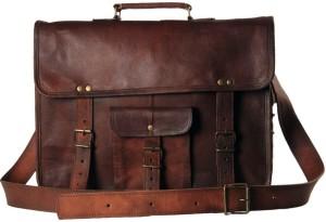 CraftShades 15 inch Expandable Laptop Messenger Bag