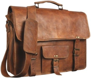 CraftShades 15 inch Expandable Laptop Messenger Bag