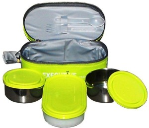 Milton Executive lunch box 3 Containers Lunch Box 1300 ml Best Price ... f4c9c4a35122