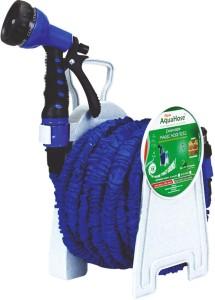 AquaHose Expandable Magic Hose Reel Blue 30mtr (Fixed Type) Hose Pipe