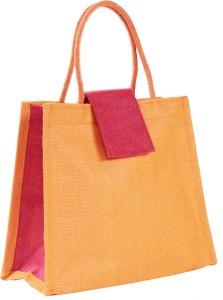 Ashvah Premium Orange Jute Lunch Bag