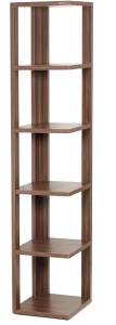 Bluewud Albert Engineered Wood Open Book Shelf