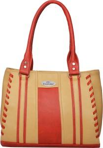 eee8663daa FD Fashion Shoulder Bag Beige Red Best Price in India