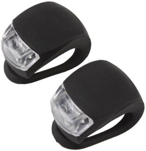 FurMito Black Waterproof Super 2 Piece Blinker Bicycle LED Front Light