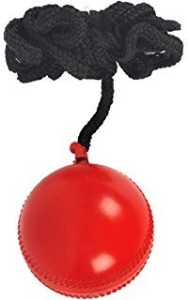 SPORTS SOLUTIONS Cricket Practice Ball with thread for hanging Cricket Ball -   Size: 5