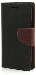 best sneakers 3f24c b9d14 Nosson Flip Cover for Reliance Jio LYF Water 7 Brown Best Price in ...