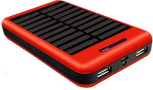Coolnut High Capacity Dual Output Power Bank With Solar Panel 13000 mAh Power Bank