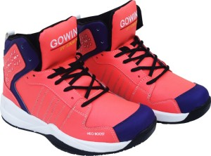 Gowin By Triumph Neo Boost_Pink/Violet Basketball Shoes