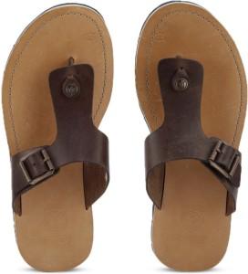 801795b6b52e Clarks Pennard Flip Brown Leather Flip Flops Best Price in India ...