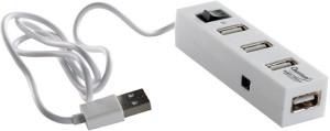 Brand New QHMPL 4 Port USB Hub High Speed 480 MBPS USB Adapter