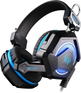 Kotion Each GS210 Multicolor LED Wired Gaming Headset With Mic