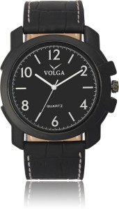 Volga VLW050014 Casual Leather belt With Designer Stylish Branded Fancy box Analog Watch  - For Men