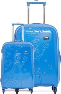 GAMME DISNEY GAMME BLUE FROZEN EMBOSS SET KIDS LUGGAGE TROLLEY BAG 20/24 INCH Trolley