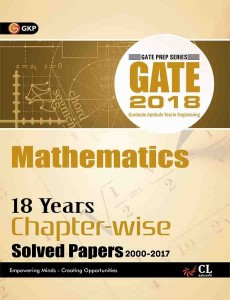 GATE - Mathematics 2018 (18 Years Chapter-wise Solved Papers 2000-2017) First Edition price comparison at Flipkart, Amazon, Crossword, Uread, Bookadda, Landmark, Homeshop18