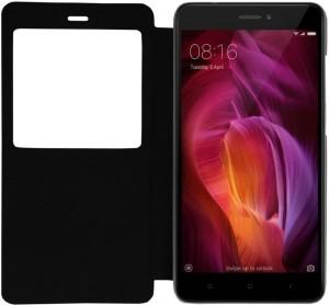 buy popular 4e4d7 dd285 Colorcase Flip Cover for Xiaomi Redmi Note 4Black